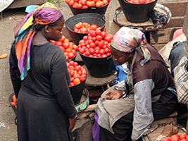 West African Markets and Cuisine - Accra
