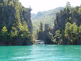 Boat Trip in Green Canyon - Alanya