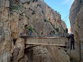 Excursion to Camino del Rey - Costa del Sol