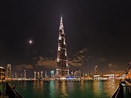 Dubai by Night - Ajman