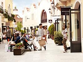 de compras en la roca village en barcelona