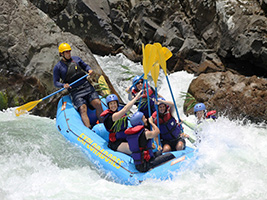 W.W. Rafting clase IV Pacuare, San José / Central Valley