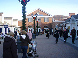 Shopping at Woodbury Common Premium Outlets, New York Area - NY