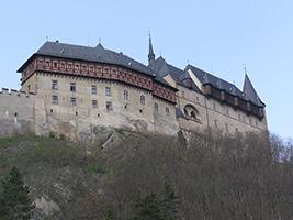 Karlstejn Castle from Prague, Prague