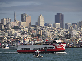 Golden Gate Bay Cruise, San Francisco Area - CA
