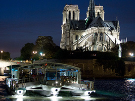 Paris Illuminations Tour and Seine River Cruise, Paris
