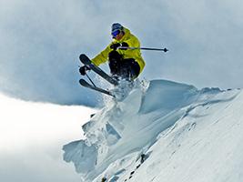 Alquiler de esquís o snowboard