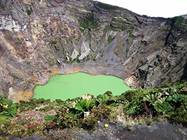 Irazú Volcano from San Jose, San José / Central Valley