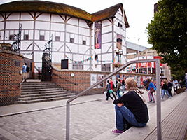Shakespeare's Globe Theatre Tour, London
