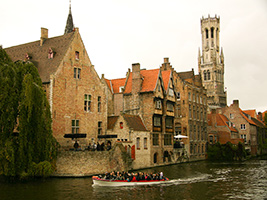Ghent and Bruges from Brussels, Brussels