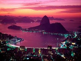 Rio at night, Rio de Janeiro