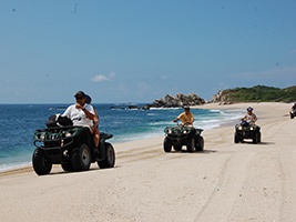 ATV all terrain vehicle ride, Huatulco