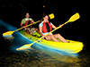 Aventura en kayak bioluminiscente