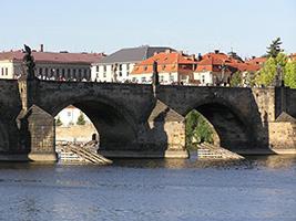 Cruise on the Vlatava river, Prague