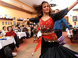 Folkloric party in Prague, Prague