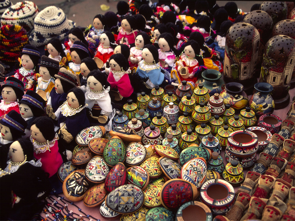 Excursão ao Mercado de Otavalo