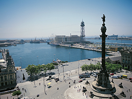 Montjuic and Barcelona port tour, Barcelona