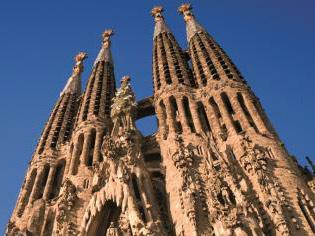 Barcelona Highlights Tour with Sagrada Familia and Poble Espanyol
