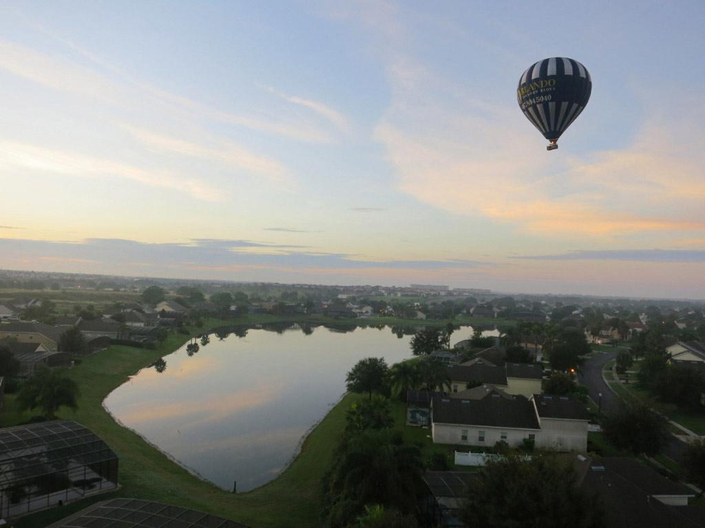 Passeio de balão de ar quente em Orlando