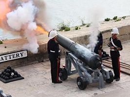 Animated Tour of Fort Rinella, Malta