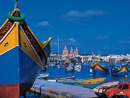 Blue Grotto and Marsaxlokk market, Malta