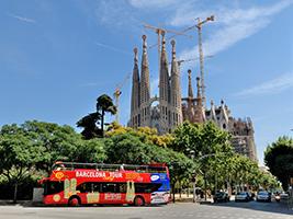Bus Turistico Barcelona Tour de la Ciudad +  WIFI - Hotels in Barcelona