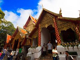 Half Day Doi Suthep Temple With Meo Doi Pui, Chiang Mai