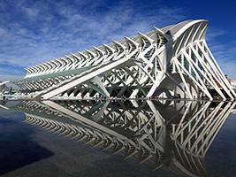 Hemisfèric, Museo de las Ciencias Príncipe Felipe y Oceanogràfic - Hoteles en Valencia