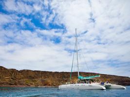 La Graciosa Island via Catamaran, Lanzarote
