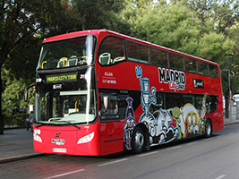 Madrid Hop-on Hop-off Bus Tour, Madrid