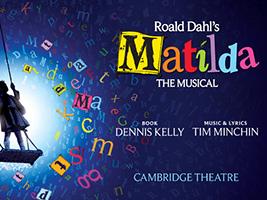 Matilda The Musical, London