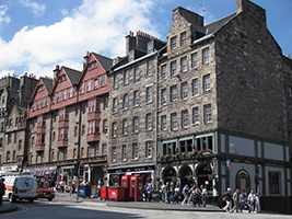 Edinburgh walking tour, Edinburgh