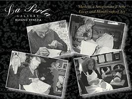 Murano glassblowing and Burano lace-making, Venice (and vicinity)