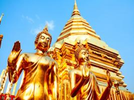 Doi Suthep Temple and City Temples with Lunch from Hotel Inside Chiang Mai City Only, Chiang Mai