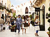 La Roca Village shopping express