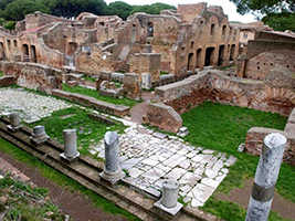 Ancient Ostia by Train, Rome