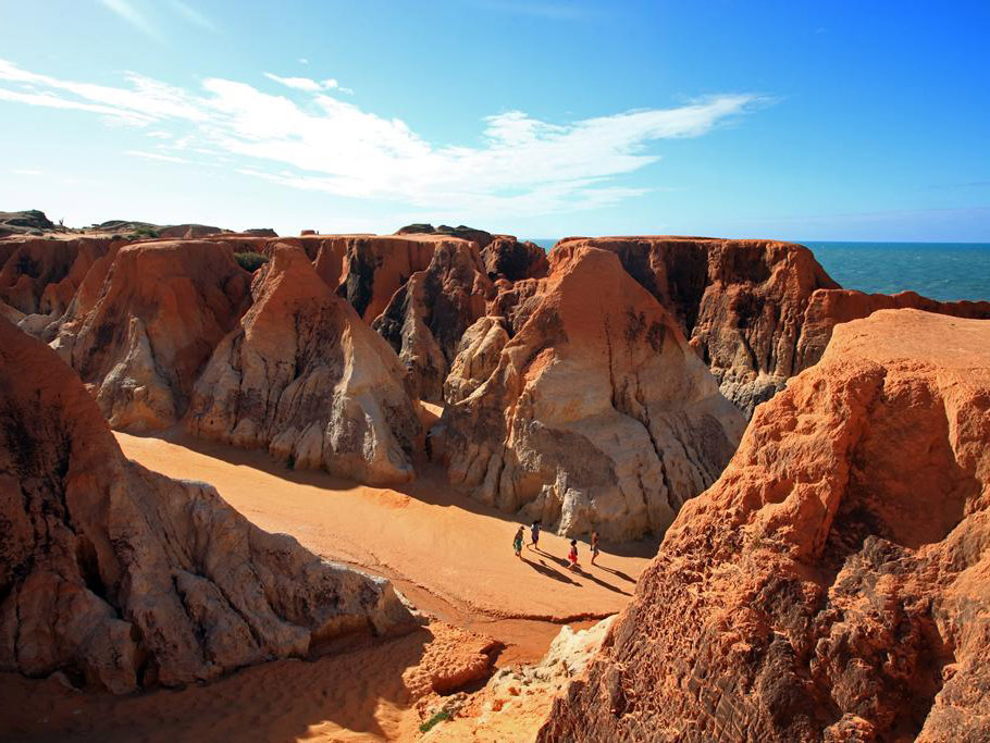 Exótica Praia Canoa Quebrada