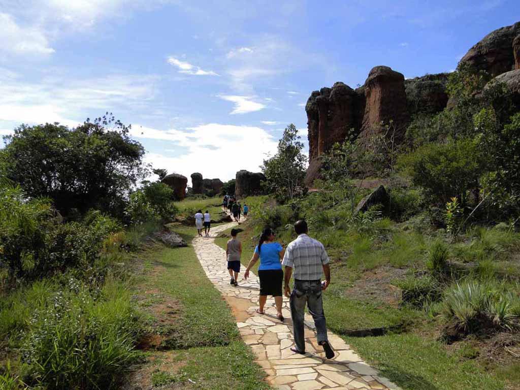 Excursão ao Parque Estadual de Vila Velha