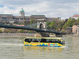 The floating bus Budapest, Budapest