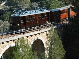 Soller Train and Tram, Majorca