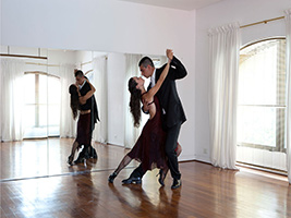 Private tango lessons, Buenos Aires