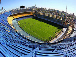 River and Boca stadiums tour, Buenos Aires