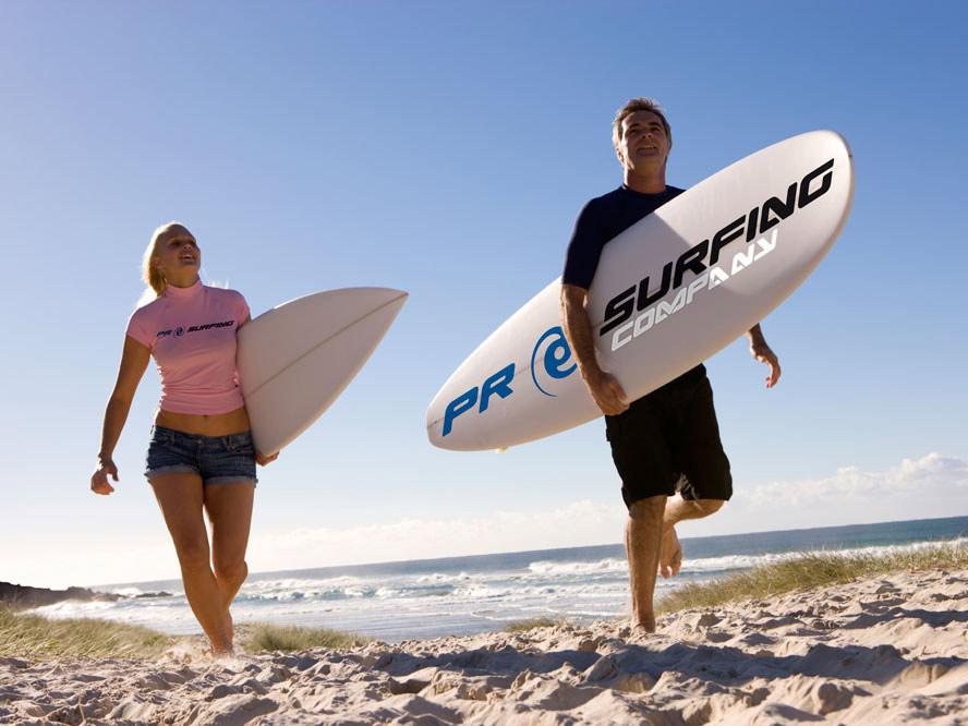 Surf y actividades acuáticas