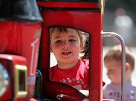 Tren infantil en Andorra