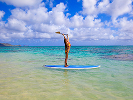 Stand Up Paddling, Hawaii - Oahu - HI