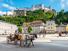 Salzburg from Vienna, Vienna