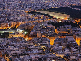 Athens by night, Athens