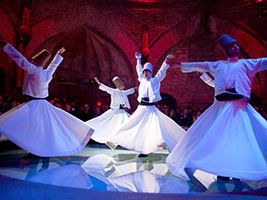 Whirling Dervishes tour, Istanbul