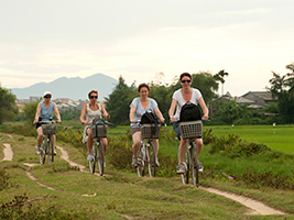 Hoi An Boat and Bike Tour with Sunset BBQ, Hoi An - Danang - Central