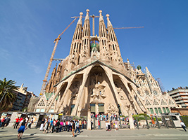Ticket Sagrada Familia Tour —  Fast Track